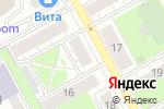 Схема проезда до компании Фаворит plus в Перми