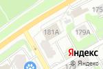 Схема проезда до компании RED BUS в Перми