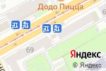 Схема проезда до компании ВЫРУЧКА в Перми