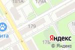 Схема проезда до компании АртФото в Перми