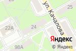 Схема проезда до компании Women`s Loft в Перми