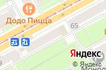 Схема проезда до компании Деловой ёж в Перми