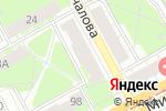 Схема проезда до компании Экспресс-Ателье в Перми