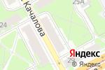 Схема проезда до компании ФЕРМА в Перми