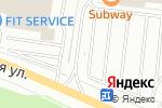 Схема проезда до компании Фойер в Перми