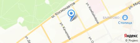 Детский сад №218 на карте Перми