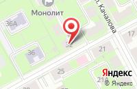 Схема проезда до компании Суши GOOD в Ярославле