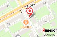 Схема проезда до компании Форвард-Урал в Перми