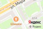 Схема проезда до компании СтройБаза-Пермь в Перми