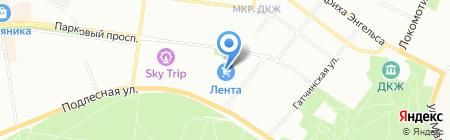 Банкомат АИКБ Татфондбанк на карте Перми