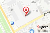 Схема проезда до компании Перспектива в Перми