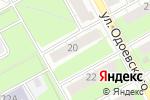 Схема проезда до компании Балкон ЛЮКС в Перми