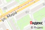 Схема проезда до компании Тату-салон в Перми