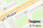 Схема проезда до компании Black Nova в Перми