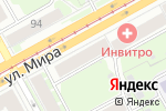 Схема проезда до компании Эдком в Перми