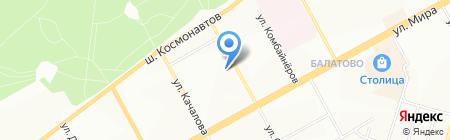 Кристель на карте Перми