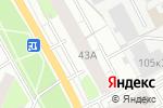 Схема проезда до компании Субарист в Перми