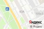 Схема проезда до компании Львиная Доля в Перми