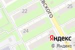 Схема проезда до компании UMKA59 в Перми