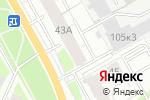 Схема проезда до компании Косметический кабинет в Перми
