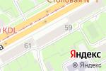 Схема проезда до компании Модный базар в Перми
