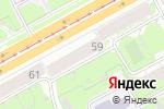Схема проезда до компании Мегуми в Перми