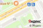 Схема проезда до компании Экспресс в Перми
