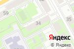 Схема проезда до компании Центр танца в Перми