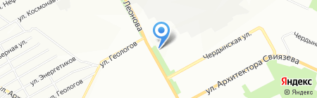 Джунгли на карте Перми