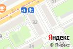 Схема проезда до компании Интраст в Перми