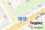 Схема проезда до компании Магазин текстиля в Перми