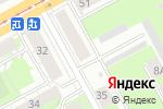 Схема проезда до компании Друзья в Перми