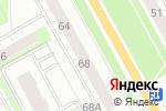Схема проезда до компании Стрекоза в Перми