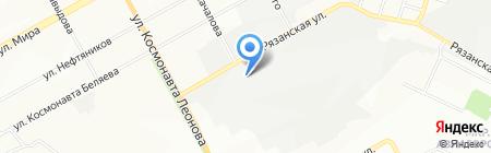 Мебель-Гарант на карте Перми