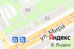 Схема проезда до компании Продуктовый минимаркет в Перми