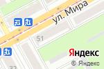Схема проезда до компании Краевая мемориальная компания в Перми