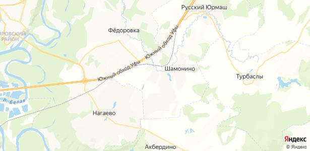 Бурцево на карте