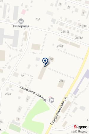 ЧЕЛНЫ-БРОЙЛЕР на карте Акбердино