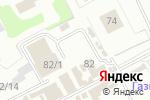 Схема проезда до компании Магазин автоаксессуаров в Перми