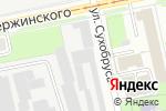 Схема проезда до компании ЛЕСОПТТОРГ в Перми