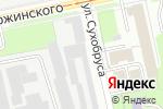 Схема проезда до компании Комплект-Систем в Перми