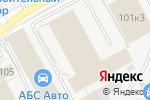 Схема проезда до компании АКБ Мастер в Перми