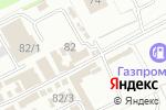 Схема проезда до компании Магазин авточехлов в Перми
