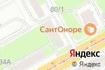 Схема проезда до компании Вариант в Перми