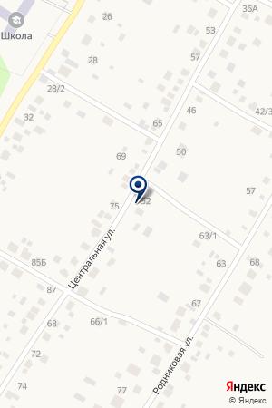 Волна на карте Акбердино