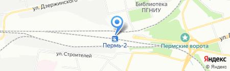 Банкомат Банк ВТБ 24 ПАО на карте Перми
