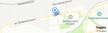 Грузовая техника на карте Перми