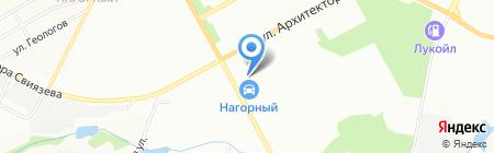 Аква+ на карте Перми