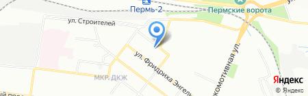 Водные технологии Пермь на карте Перми