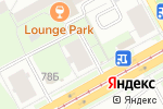 Схема проезда до компании Бухгалтерская фирма в Перми